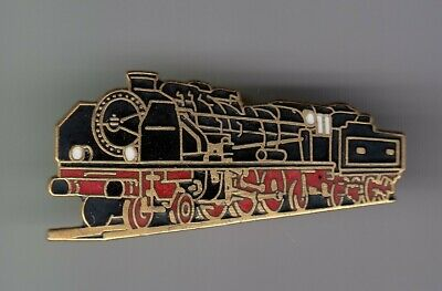 Rare Pins Pin's .. Train Railways Sncf Locomotive Vapeur Pacific Ancienne  ~Eo