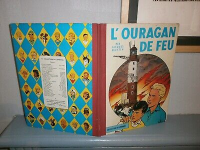 Lefranc 2: L'ouragan de feu collection du Lombard eo 1961 BE