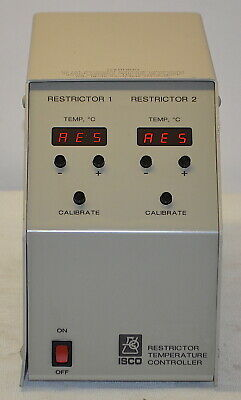 ISCO Restrictor Temperature Controller *Used, Power On Tested*
