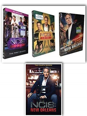 NCIS New Orleans Complete Seasons 1-4 DVD Series 1 2 3 4( DVD 24-Disc Set) New