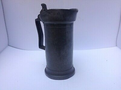 Antique French Pewter Measure By Humbert Napoleon