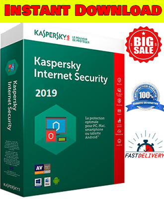 KASPERSKY INTERNET SECURITY 2019 1 Pc 1 Year 🔑GLOBAL KEY! Sale !!6.99$