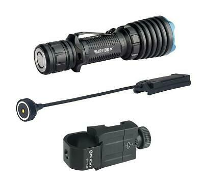Olight Bundle Warrior X + remote Switch + Weapon Mount | 2000 Lumen Weapon Light