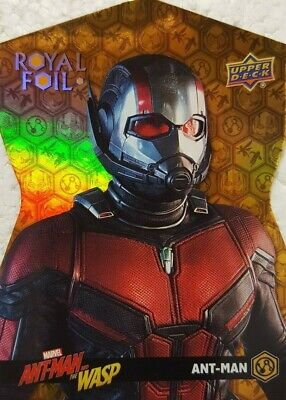 2018 Upper Deck ANT-MAN and the WASP Trading Card ROYAL FOIL RF-1 ANT - MAN