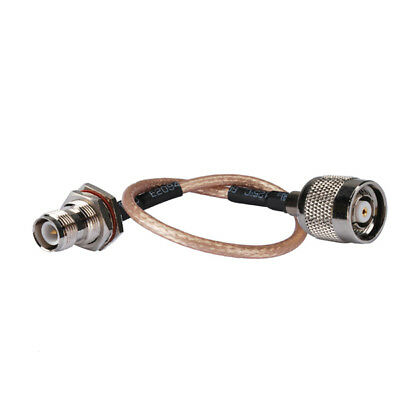 RP TNC female jack to male plug pigtail coaxial cable RG316 15cm for Wireless