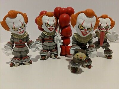 Funko Mystery Minis  It Chapter 2 Lot of 4 Pennywise Minis Knife,Funhouse,Hat...