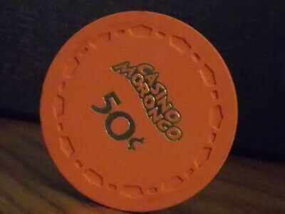 CASINO MORONGO $0.50 (50¢) hotel casino gaming chip ~ Cabazon, CA
