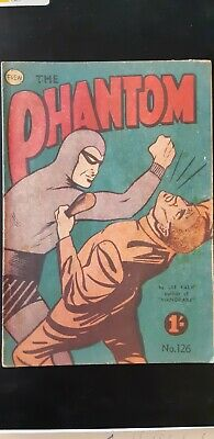 Frew Phantom comic book issue 126 very good  condition