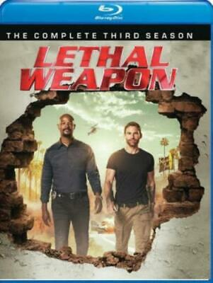 LETHAL WEAPON: COMPLETE THIRD SEASON (Region A BluRay,US Import,sealed.)