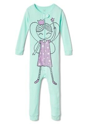 GAP Kids Girls Fairy Ballerina All In One Piece Pyjamas Age 5 Years NEW Bue