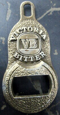 collectors c1960's all pressed metal VB (Victoris Bitter) bottle opener .