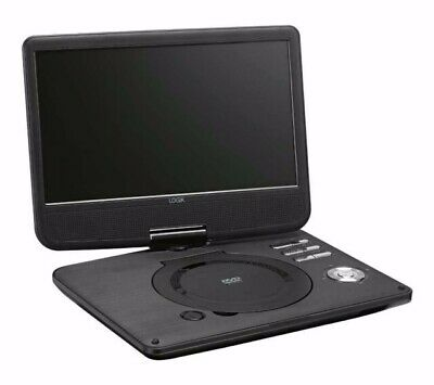 """LOGIK 10"""" Inch Portable DVD Player Rechargeable Swivel Screen"""