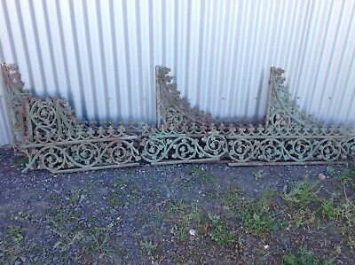 Antique Cast Iron Victorian Veranda Lacework