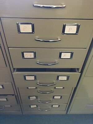 3 x 6 drawer filing cabinets. Used. In good working condition. PICK UP ONLY!