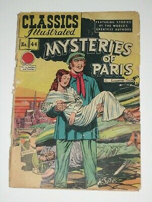 Classics Illustrated MYSTERIES of PARIS    #44