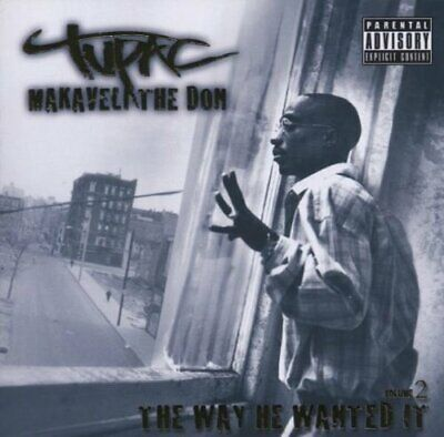 "Tupac – Makaveli The Don ""The Way He Wanted It"" Vol 2 - 2Pac New Sealed (C839)"