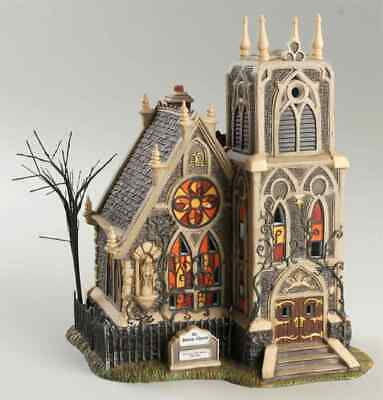 NEW! ~ DEPARTMENT 56 HALLOWEEN 56.587707 ALL SAINTS CHURCH  All Hallows Eve