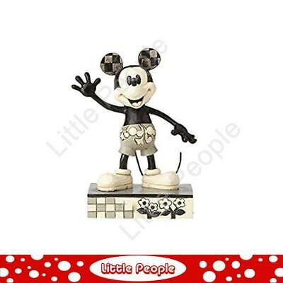 Jim Shore Mickey Get A Horse Figurine  Disney Traditions