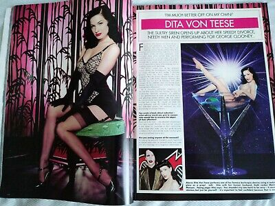 Dita Von Teese Ok Magazine July 03 2007 Tease Burlesque Striptease Fetish