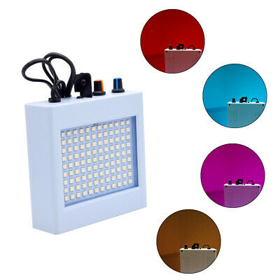108RGB LED Disco Party DJ Bar Light Strobe Music Show Projector Sound Activated