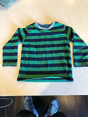Gap Baby 3t Striped Pocket Long Sleeve T Shirt