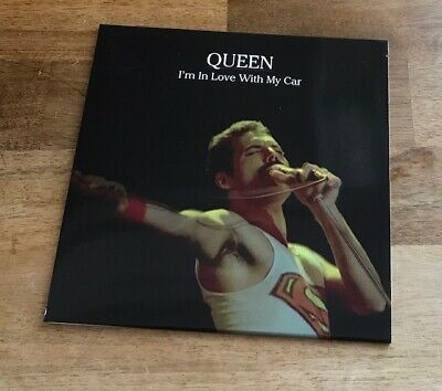 """Queen - Im in love with my car - 7"""" Vinyl 4 track RED Vinyl  -  Rare"""