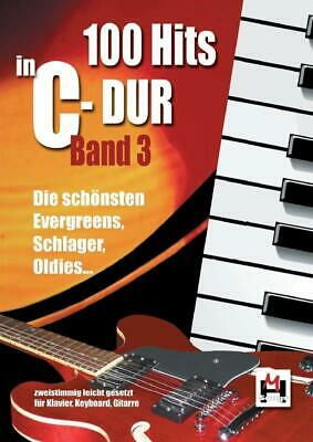 100 Hits In C-Dur: Band 3 Piano Vocal Guitar Pop & Rock Present MUSIC BOOK