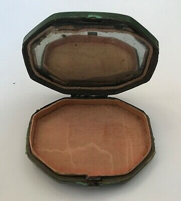 Antique Late 18th /Early 19th Century Shagreen Ladies' Octagonal Powder Compact.