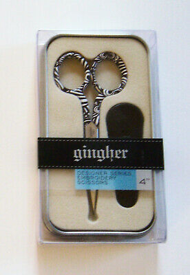 """Gingher 4"""" ELLA Designer Series Limited Edition New in Box"""