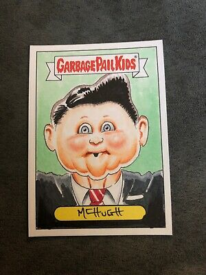 Garbage Pail Kids Original Sketch Card Art President Ronald Reagan 1980s Ray Ron