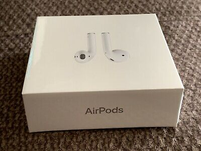 Apple AirPods 2nd Generation  ( MV7N2AM/A )   Factory Sealed (Not Wireless Case)