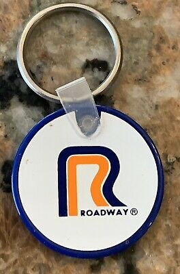 1970S Roadway Keychain Direct Service Idaho, Washington, Oregon, Utah