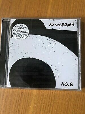 ed sheeran NO. 6 Collaborations Project (CD 2919) Brand New And Sealed