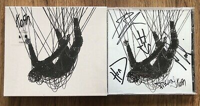 Korn - The Nothing Fully SIGNED CD Jonathan Davies Slipknot Sold Out