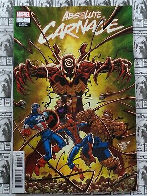 Absolute Carnage (2019) Marvel - #3, Ron Lim Variant, Cates/Stegman, NM
