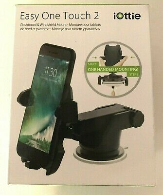 iOttie Easy One Touch 2 Universal Car Mount – Black NEW