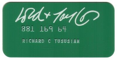 Vintage Lord & Taylor Princess Size Merchant Credit Card