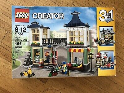 LEGO 31036 Creator Toy and Grocery Shop New Sealed Box Damage