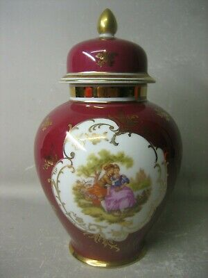 Collectable Bavaria Germany lidded jar