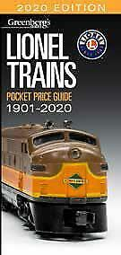 Lionel Trains Pocket Price Guide 1901-2020 Greenberg's Guide BRAND NEW