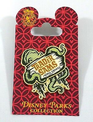 Disney Polynesian Resort Trader Sams Grog Grotto Trading Pin Nautilus Squid New