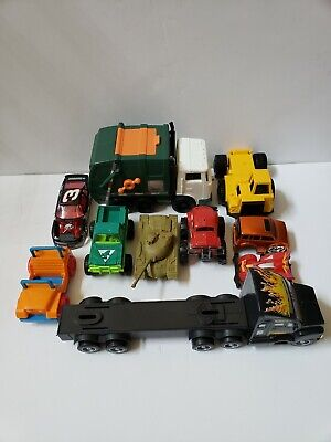 Toy Lot Junk Drawer Cars Truck Turtles Chipmunk Smurf used kids toys resale ONE