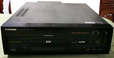 Pioneer Laserdisc DVL-700 DAC Hi-Bit Conversion DVD Player with remote works