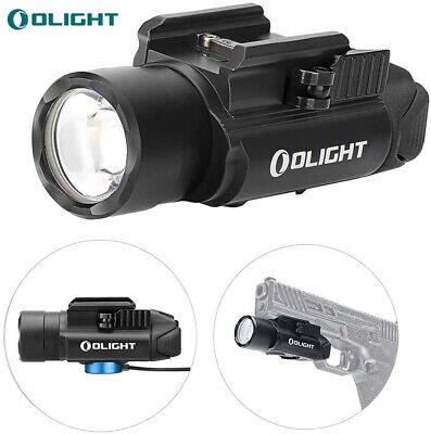 OLIGHT PL-PRO Valkyrie 1500 Lumens Rechargeable Rail Mount Tactical Light Black