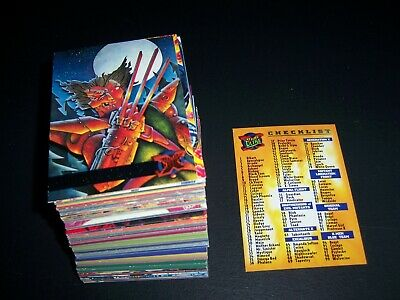 1995 Marvel Fleer Ultra Xmen Comic card base set near complete missing 3 cards