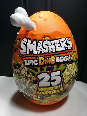Zuru Smashers EpIc Dino Egg Over 25 Surprises New Factory Sealed 2019 Series 3