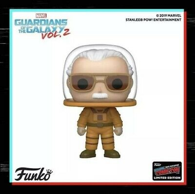 Funko Pop Marvel Stan Lee Guardians Galaxy NYCC 2019 SHARED Exclusive CONFIRMED