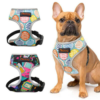 Reflective Dog Harness for Small Medium Dogs Pet Mesh Padded Walking Jacket Vest