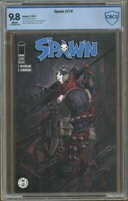 Spawn #270 CBCS 9.8 White Pages, Image Comics, Todd McFarlane, Not CGC!