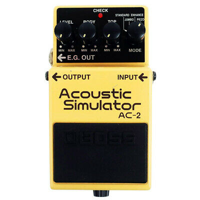 Used Boss AC-2  Acoustic Simulator Effects Pedal Guitar AC2 #5 Free shipping
